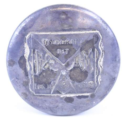 1913 INTEGRITY NO.187 QUADRAPLATE POWDERBOX