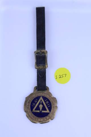 ANTIQUE MASONIC WATCH FOB