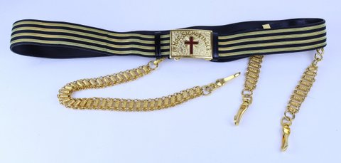 MASONIC KNIGHTS TEMPLAR SWORD BELT
