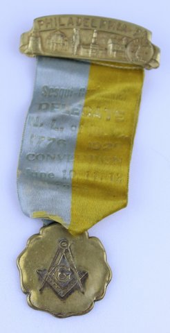 PHILADELPHIA DELEGATE CONVENTION RIBBON 1926