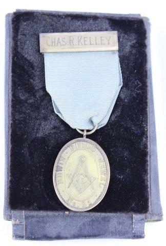 CHAS R. KELLEY RED BANK N.S. MEDAL 1947
