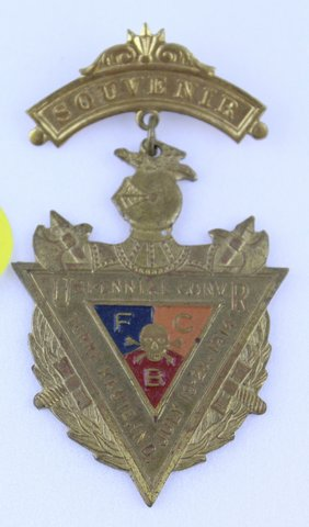 VBI-ENNIAL CONVOCATION TERRE HAUTE SOUVENIER MEDAL 1914