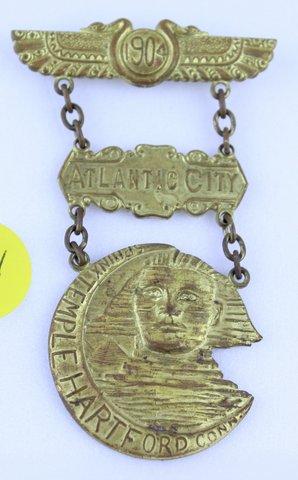 1904 ATLANTIC CITYRAJAH MEDAL