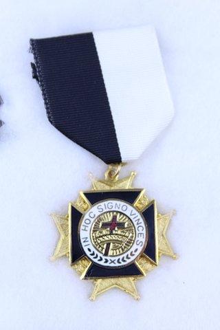 GRAND COMMANDERY K.T. OF N.C. MEDAL 1881-1981