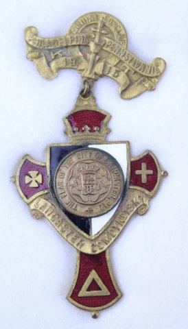 ANNUAL CONCLAVE PHILADELPHIA PA PIN 1915