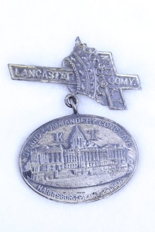 LANCASTER GRAND COMMANDERY CONCLAVE PIN