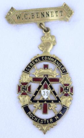 W.C. BENNETT CYRENE COMMANDERY ROCHESTER NY
