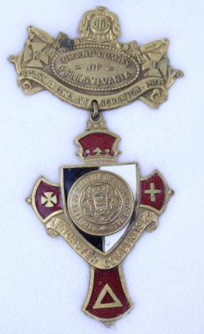 63RD ANNUAL CONCLAVE SCRANTON PA 1916