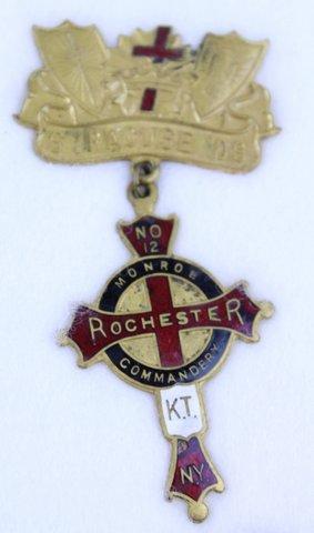 ROCHESTER NY MONROE COMMANDERY K.T. #12