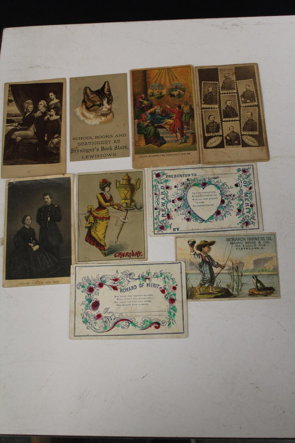 Random Lot of Small Photo Cards/Advertising