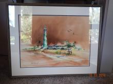 Harbor Painting