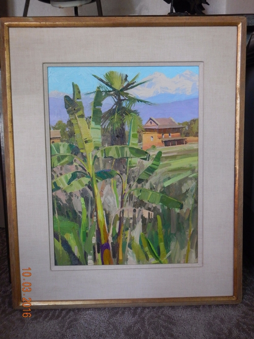 Palm, Banana & Glaciers From Godavari