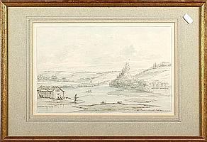 Thomas Sunderland (British, 1744-1828) Neuilly