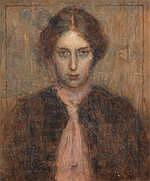 AR Harold Knight, RA, ROI, RP (British, 1874-1961) Laura 1896
