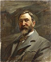Harold Knight, RA, ROI, RP (British, 1874-1961) Portrait of a gentleman