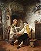 Hendrick Joseph Dillens (Belgian, 1812-1872) A rude awakening