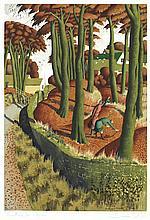 AR Simon Palmer (British, born 1956) Hunting for Cêpes