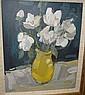 Jane Soeder (British, 20th Century) 'The Yellow Vase'
