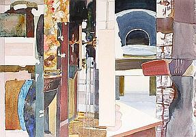 Peter Weaver (British, born 1927) Museum Interface