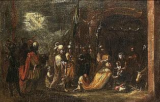 Circle of Juan de Valdes Léal (Seville 1622-1690) The Adoration of the Magi