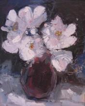 Jane Soeder-(British, born 1934)-Late Flowers