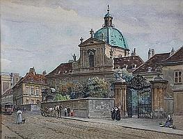 Ernst Graner (Austrian, 1865-1943) 39 x 51cm