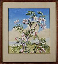 William Kermode Trees, and another of flowers
