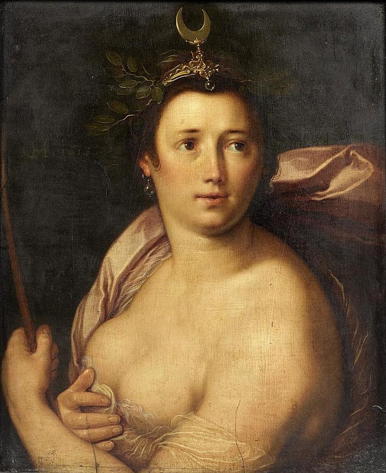 Cornelis Cornelisz. van Haarlem (Haarlem 1562-1638) Diana
