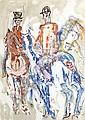 Michael Gibbison (British, born 1937) The meet