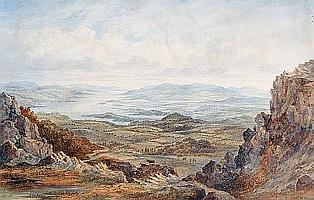 Thomas Richard Hofland (British, 1816-1876) View of Windermere