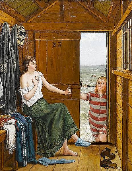 Constant Aimé Marie Cap (Belgian, 1842-1915)