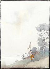 Charles William Taylor (British, 1875-1960) Kite