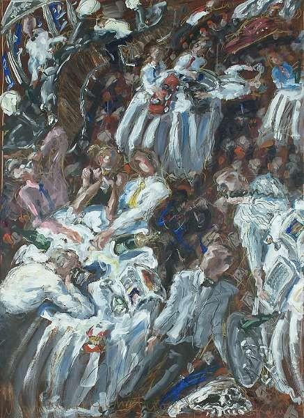 John Keane Artwork for Sale at Online Auction | John Keane ... |John Keane Console