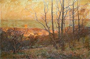 F. William Brooke (British, active 1886-99) St. Ives, Cornwall