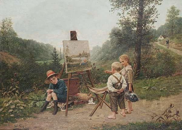 Constant Aimé Marie Cap (Belgian b. 1842)
