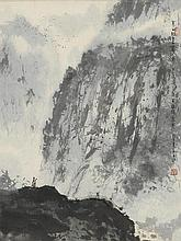 Li Shan (b.1926) Wang Wei's Poetic Landscape