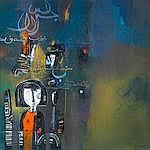 Ahmed Abushariaa (Sudanese, born 1960) 'Peace'