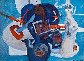 Nikolai Gritsuk (Russian, 1922-1976) Untitled