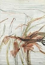 NASSER ASSAR (IRAN, 1928-2011) L'Oiseau Persan oil on canvas, framed s