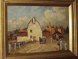 Henry Charles Clifford (British, 1861-1947) 'The White Mill, St. Osyth, Essex',