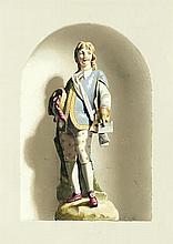 Clifford Harrison (British, 1901-1984) Porcelain figures; a pai