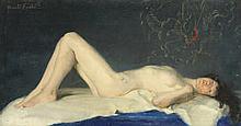 * AR ROSALIE EMSLIE (BRITISH, 1891-1977) - Daydreaming