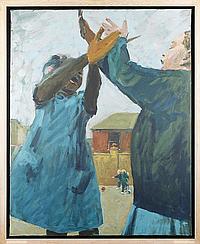 Oliver Bevan (British, born 1941) 'High Point'