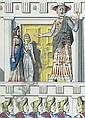 James Cleaver (British, 1911-2003) Ancient Greek stage performers