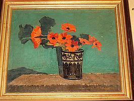 Margaret Firth (British, 1898-1991) 'Two Flower Heads'