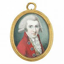 JOSEPH BOWRING (British, born circa 1760-died after 1817) A Gentleman, called Lord Clifden, wearing
