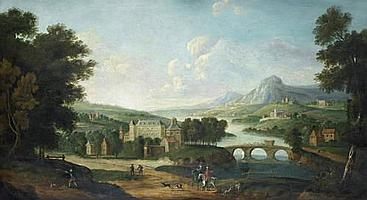 Follower of Peter Tillemans (Antwerp 1684-1734 Norton)