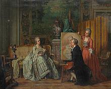 ATTRIBUTED TO JEAN CAROLUS (Belgian, 1814-1897)