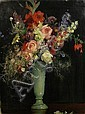 John Young Hunter (American, 1874-1955) Vase of summer flowers