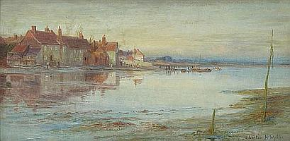 Charles William Wyllie, R.B.A. (British, 1859-1923) Bosham